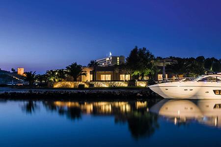 night at sani resort halkidiki greece