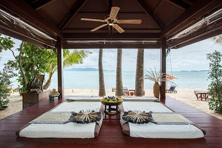 beach spa at santiburi beach resort and spa