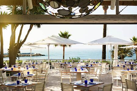 sea grill at puente romano hotel marbella