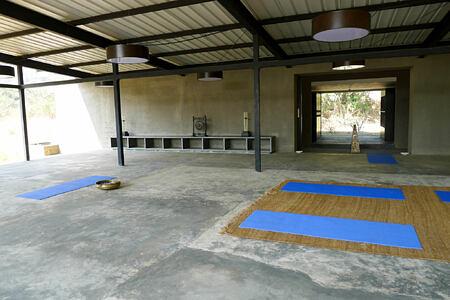yoga at Shillim Retreat and Spa