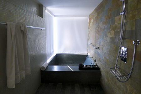 bathroom at Shillim Retreat and Spa