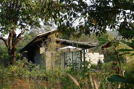garden at Shillim Retreat and Spa