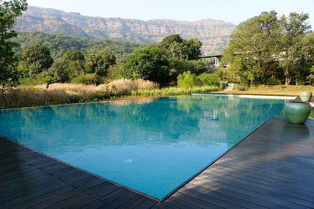 pool at Shillim Retreat and Spa