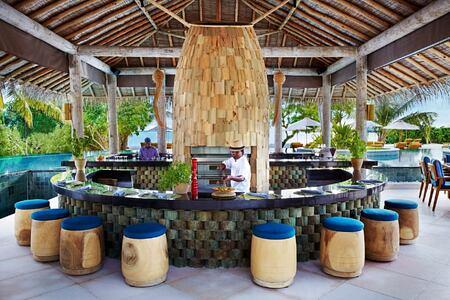 sip sip restaurant at six senses laamu hotel maldives