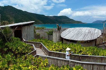 six senses spa outdoor treatment rooms at six senses con dao hotel vietnam