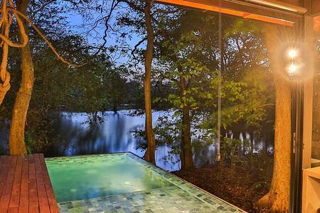 Smith private pool at Kalundewa Sri Lanka