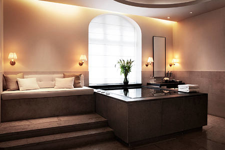 Spa suite at grand hotel sweden