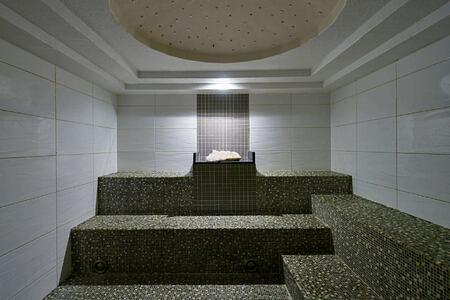 spa crystal steam room at carillion hotel usa