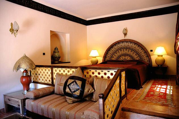 Suite ambassadeur at la roseraie hotel morocco