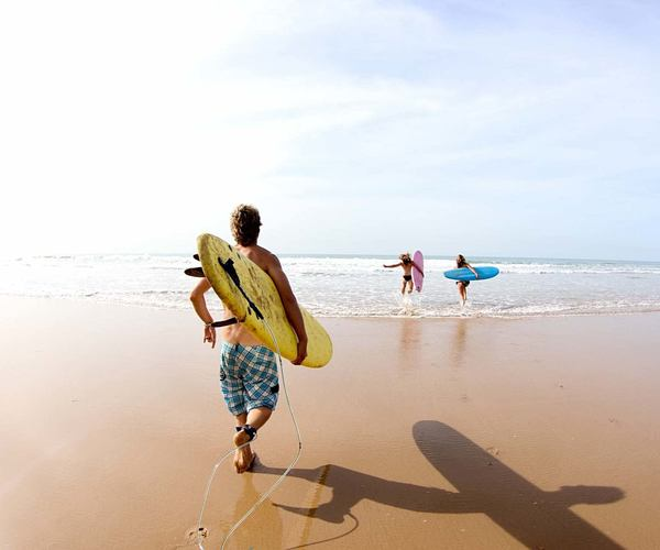 surfing at paradis plage morocco