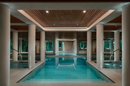 Swimming Pool at aman le melezin hotel france