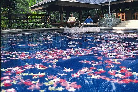 Swimming pool at Tanjong Jara Resort Malaysia