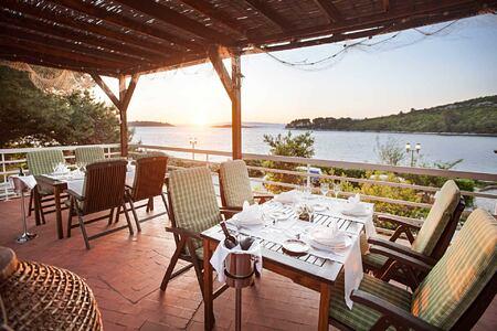Tavern at Hotel Odisej Croatia