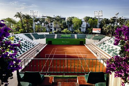 tennis club at puente romano hotel marbella