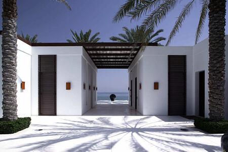 The Chedi Pool area at the chedi hotel oman