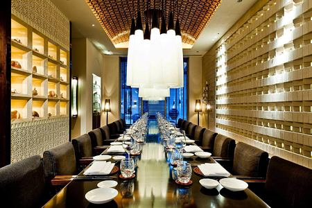 The Datai Private Dining Room at the chedi hotel oman