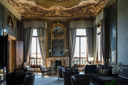 The Games Room at aman hotel venice