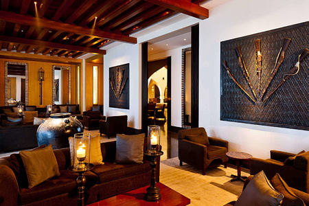 The Lobby Lounge at the chedi hotel oman