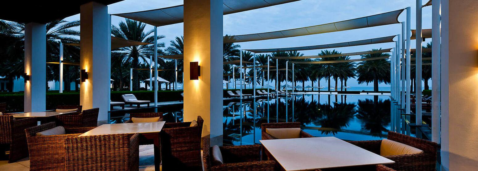The Serai Cabanas at the chedi hotel oman