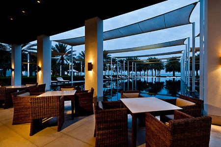 The Serai Cabanas at the chedi hotel oman