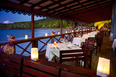 Ti Manje Beach Restaurant at ti kaye resort and spa jamaica