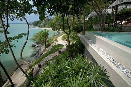 Two bedroom pool villa at kamalaya resort koh samui thailand
