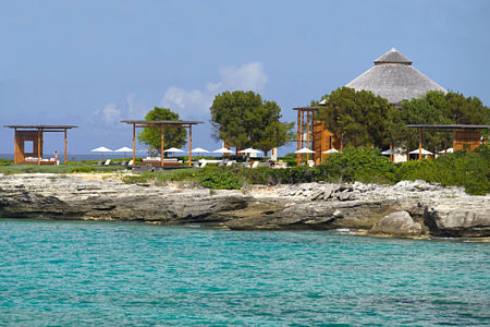 View from the Ocean at amanyara hotel Turks & Caicos