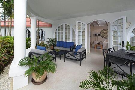 Villa Suite at fairmont royal pavilion hotel barbados
