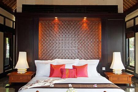 Villa room at spa village resort tembok bali
