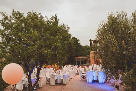 wedding at la kasbah beldi morocco