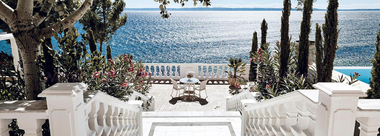 White Villa Terrace at Danai Beach Resort