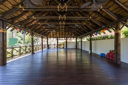 Yoga Pavilion at shanti som hotel spain