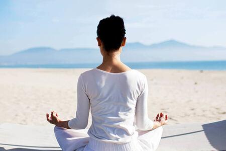 Yoga at fusion maia resort vietnam