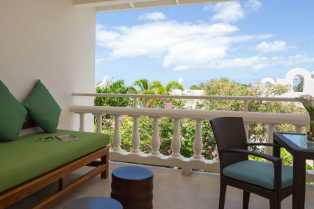 balcony view at spice island beach resort caribbean