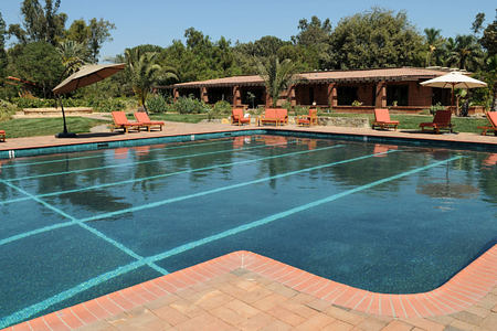 activities pool at rancho la puerta spa retreat mexico