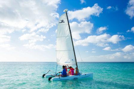 sailing at spice island beach resort caribbean