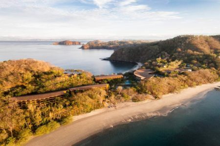 aerial view of four seasons paypagayo resort costa ricca