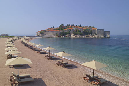 aman sveti stefan and private beach