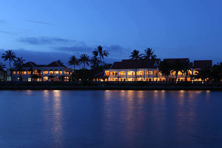 anantara hoi an hotel vietnam from the river