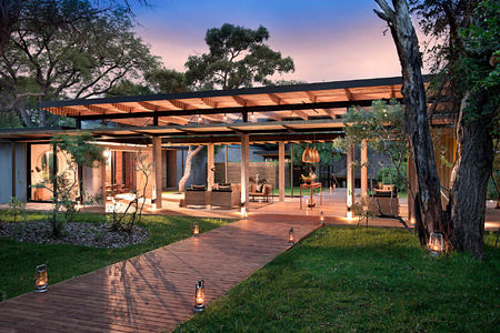 exterior of lions sands south africa