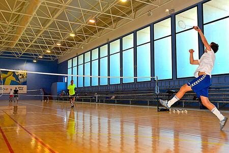 badminton at playitas resort canary islands