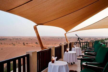 bar terrace at al maya desert resort dubai