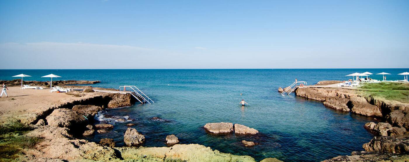 beach at Borgo Egnazia hotel