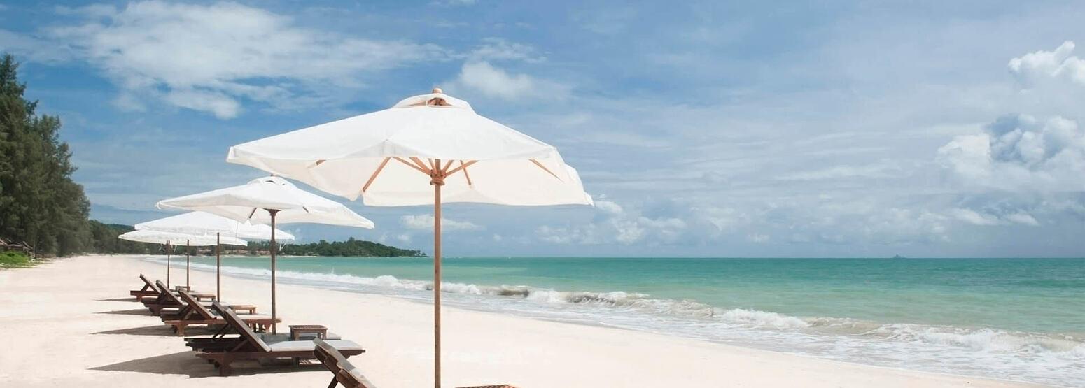 beach at layana resort and spa thailand