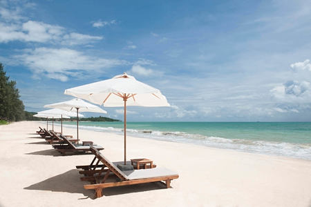 beach at layana resort and spa thailand