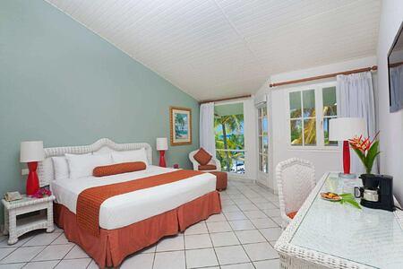 beach front room at st james morgan bay resort caribbean