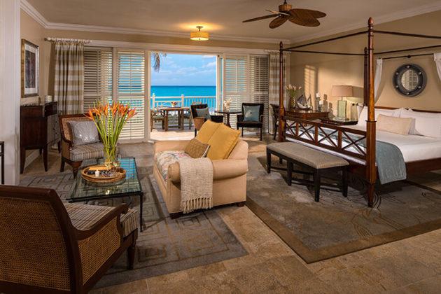 beachfront butler villa suite at sandals emerald bay resort bahamas