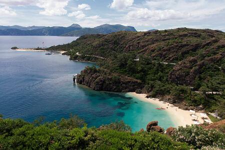 beautiful beaches at d-hotel turkey