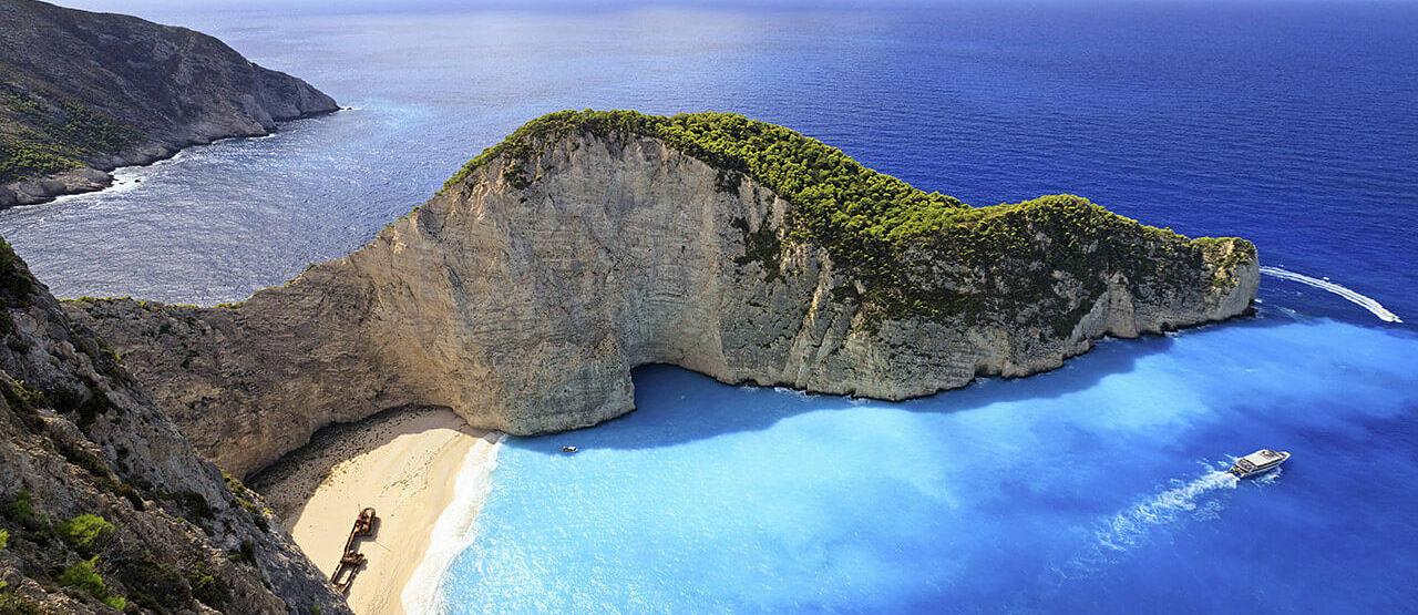 coastline at porto zante villas and spa greece