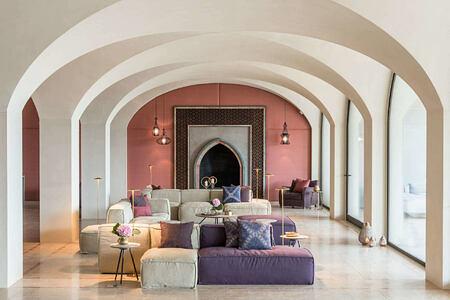 beautiful lounge at Euphoria Resort